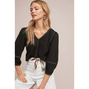 NWT Anthropologie Delilah Structured Top